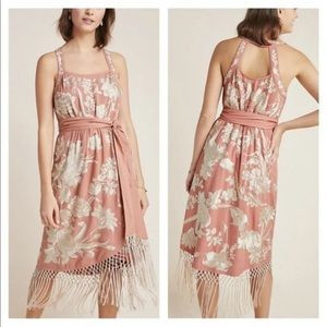 Anthropologie Sz 16 Embroidery Lucille Dress